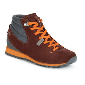 AKU Bellamont Gaia GTX Mid Shoes Women wine red/orange